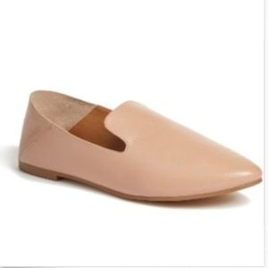 HALOGEN Sylvia Loafer- Nude Leather- Size 8- $89